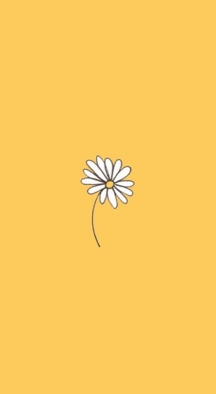 47 Trendy Ideas Flowers Yellow Cartoon Iphone Wallpaper Yellow Yellow Wallpaper Yellow Background