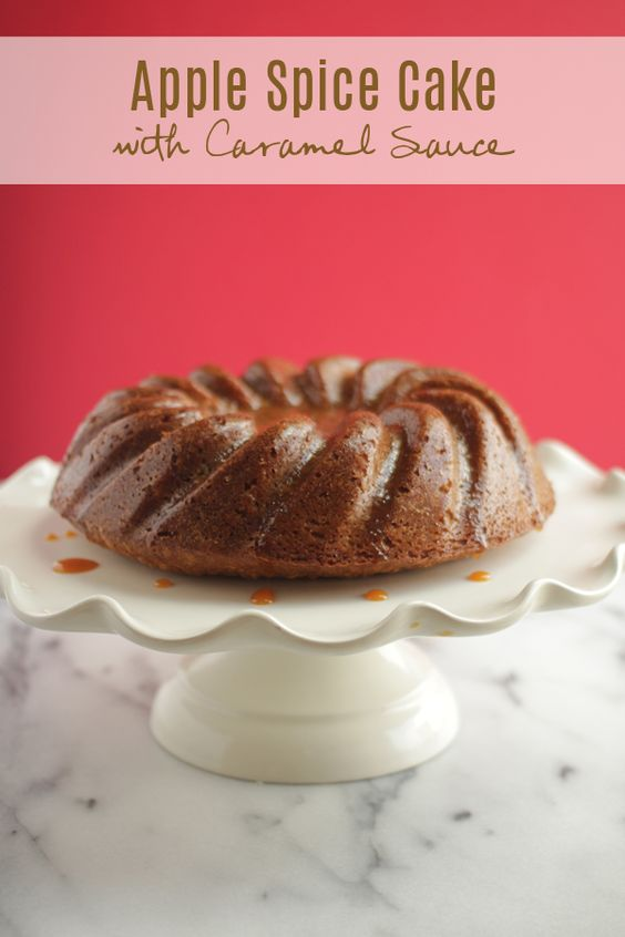 Apple spice cake, Spice cake and Spices on Pinterest