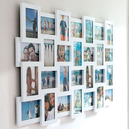Frames, Collage and White photo frames on Pinterest
