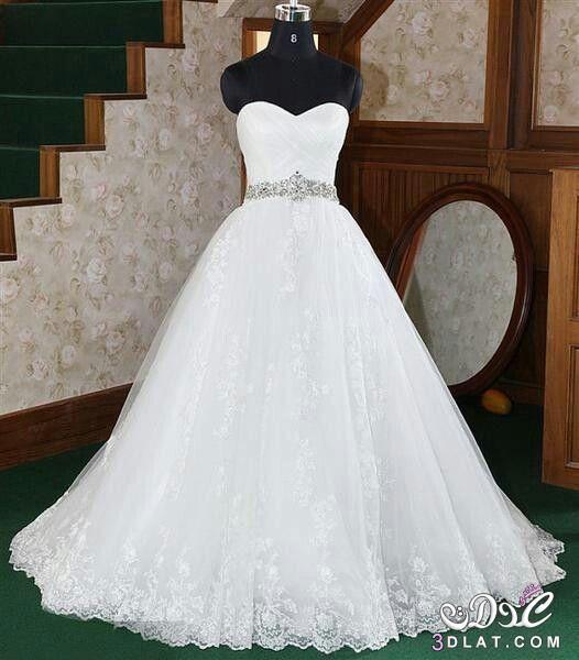 فساتين زفاف موضة 2019 فساتين فرح انيقه فساتين زفاف عالميه 2019 بالصور فساتين زفاف Ball Gowns Wedding Wedding Dresses Wedding Dress Train