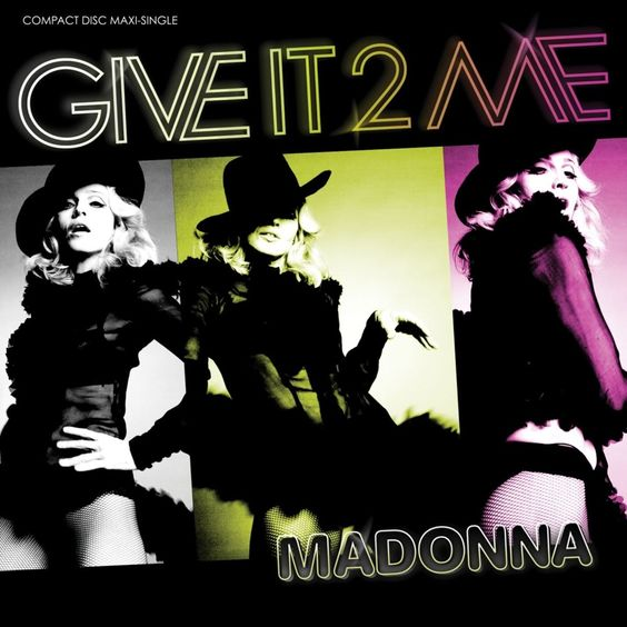 Madonna – Give It 2 Me (single cover art)