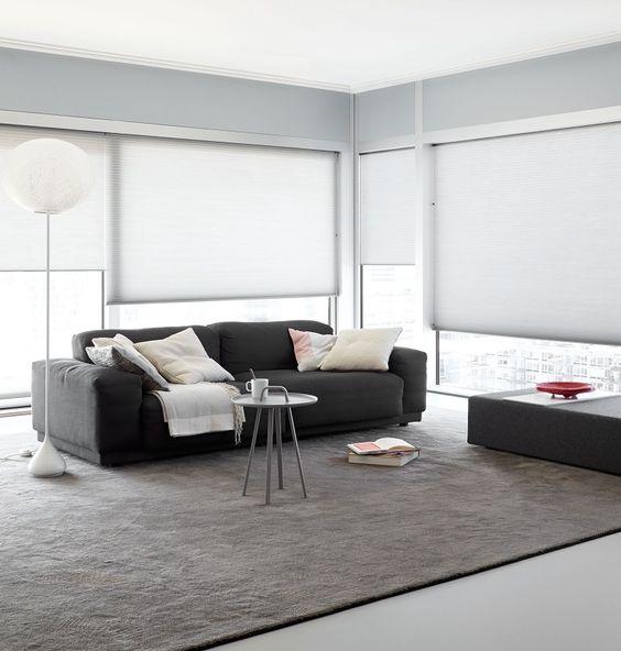 ... woonkamer #dupligordijn #woonkamer #raamdecoratie #zonwering #