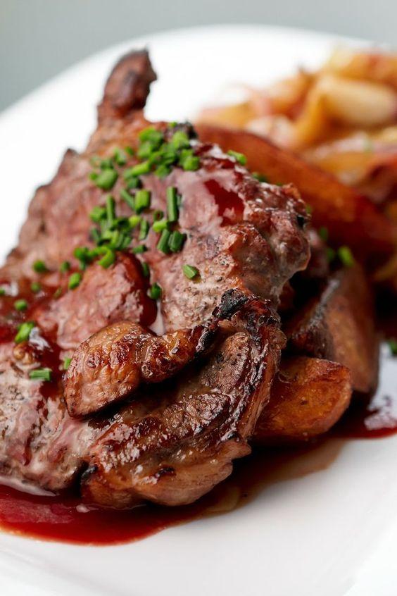 Pork chop recipes, Chops recipe and Pork chops on Pinterest