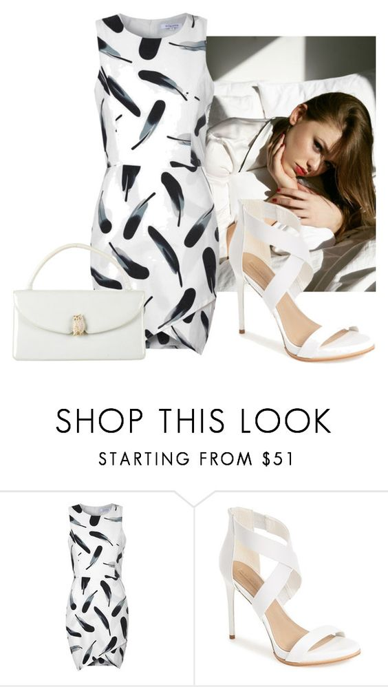 """""""#247"""" by deboramarilla ❤ liked on Polyvore featuring Glamorous, BCBGMAXAZRIA and Judith Leiber"""