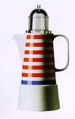 Aldo Rossi, il faro coffee pot