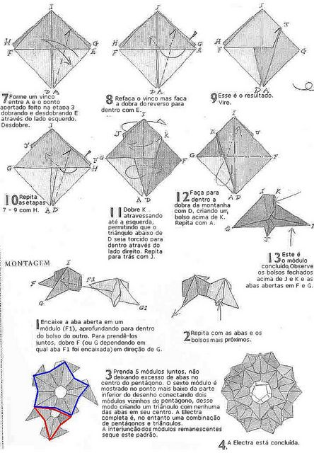 origami diagrams  lightbox and david on pinterest