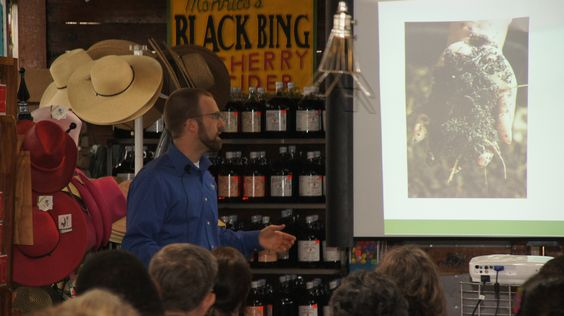 """Ryan Schmidt from Botanical Interest in our free Seed starting class."" ...We need to get our reps to do the same!"