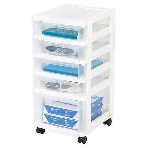 The Iris 5 Drawer Storage Cart Is A Must Have For Organizing Craft Areas Play Rooms And More Five Drawers Hold Storage Drawers Storage Cart 5 Drawer Storage