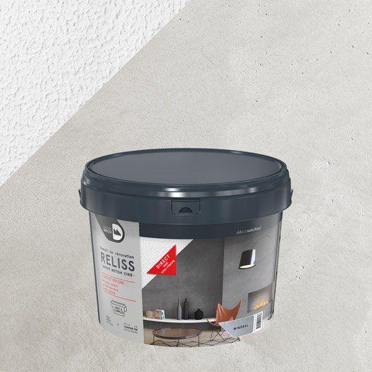 Enduit Décoratif Maison Deco Minéral 15 Kg Enduit