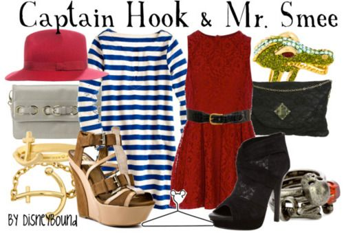 Captain Hook & Smee outfits!