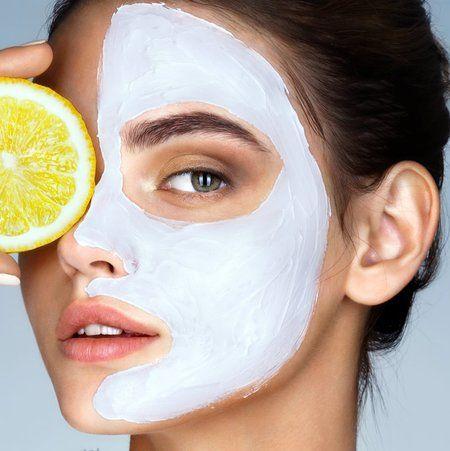 masker wajah alami untuk kulit kusam bikin glowing, sourch pinterest