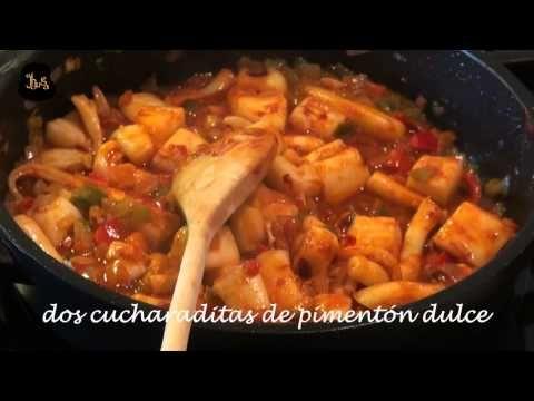 Papas con choco al estilo de Huelva - YouTube