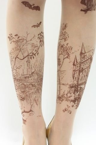 Fairyt tale landscape tattoo | Tattoomagz.com › Tattoo Designs / Ink-Works Gallery › Tattoo Designs / Ink Works / Body Arts Gallery