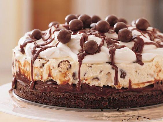 sweettoothlove – Chocolate Malt Ice-Cream Cake