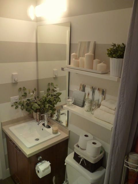 Bathroom Decorating Ideas Apartments Best Of A Basket Is A Great Way To Store Extra Toilet Pap In 2020 Bathroom Decor Apartment Small Bathroom Decor Apartment Bathroom