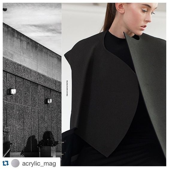 #Repost @acrylic_mag with @repostapp. ・・・ Spread from the 'Exterior' editorial featured in issue 1 of Acrylic. Fashion photography @emmapilkington , Architectural photography @grolland , Styling @eleanorfell #photography #architecture #fashion #styling #acrylicmagazine #modernarchitecture #brutalist