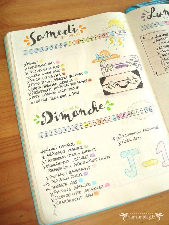 Bullet Journal français, les meilleures sources d'inspiration pour un BuJo en…