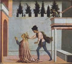 domenico veneziano, martirio di s lucia, ricerca prospettica ingenua