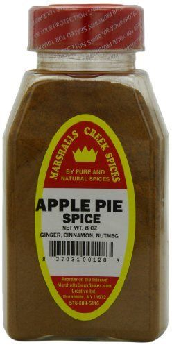 Spices Apple Pie Spice Seasoning, 8 ounces by Marshall's Creek Spices ...