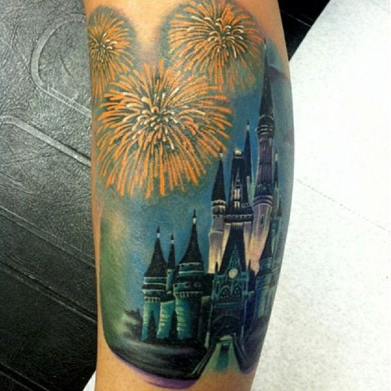 Done by tattoo artist @dangeloart by @tinkerbellmom love it! #disneytattoos #disneytattoo #disneytatts #disney #disneyland #disneyworld #instadisney #ilovedisney #tiggerlovesdisney #magickingdom #disneyprincess #castle #castletattoo #cutetattoos #girlswithtattoos #tattoosofinstagram #tattoos #instatattoo #igers #follow #shoutout #kcco #chive #chiveon #chivette #chiver #thechive #mcm