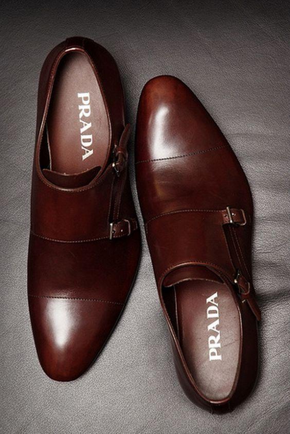 Prada Monk Double Shoes Straps Strap Monks Mystyle