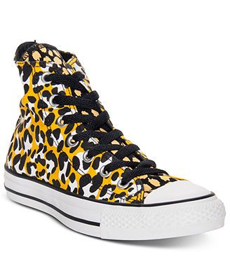 Converse Women's Chuck Taylor High Top Casual Sneakers from Finish Line only $30 at Macy's