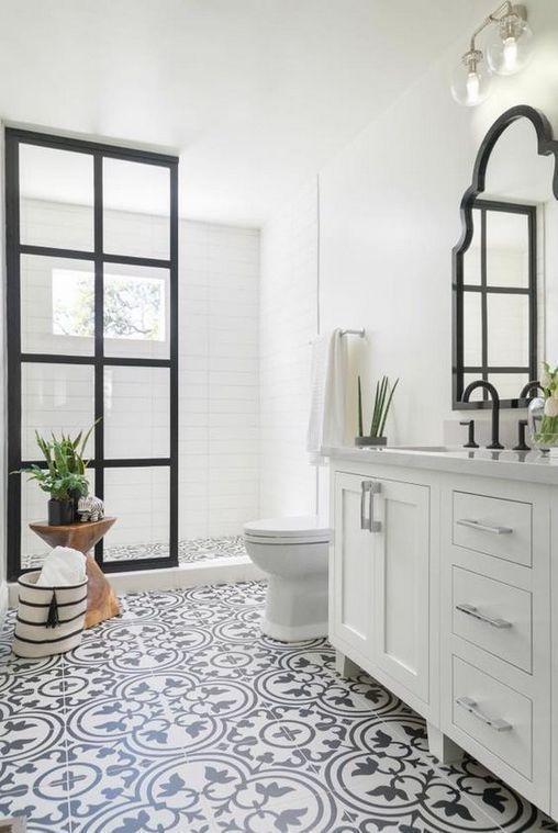 15+The Foolproof Bathroom Tile Ideas Floor Farmhouse Strategy 67 – athomebyte