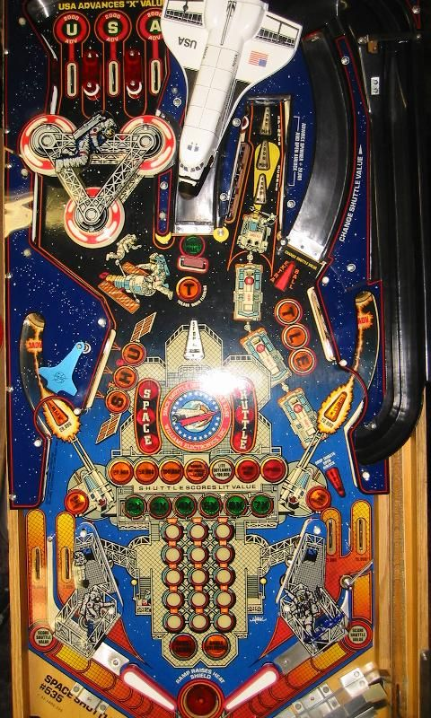 Space Shuttle pinball | Vintage Arcade | Pinterest ...