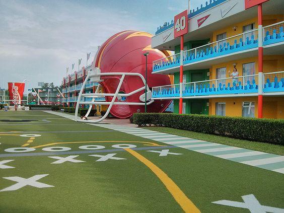 Disney All-Star Sports Resort hotel