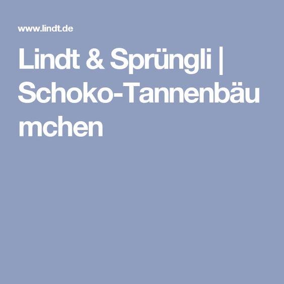 Lindt & Sprüngli | Schoko-Tannenbäumchen