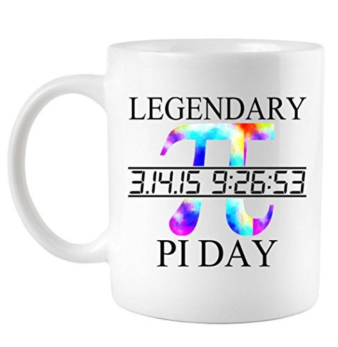 Legendary Pi Day Tie Dye Coffee Mug