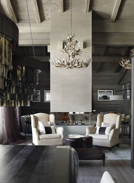Kelly Hoppen Modern Lodge Style Love This Room