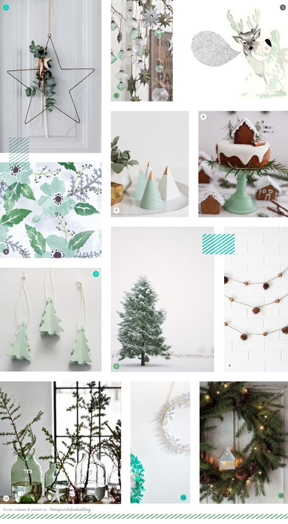 love print studio blog: A cool, calming Christmas...: