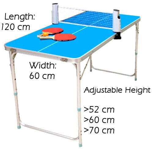 Abroz Mini Table Tennis Ping Pong Table For Kids And Family Outdoor Or Indoor Small Spaces Ping Pong Mini Table Portable Ping Pong Table