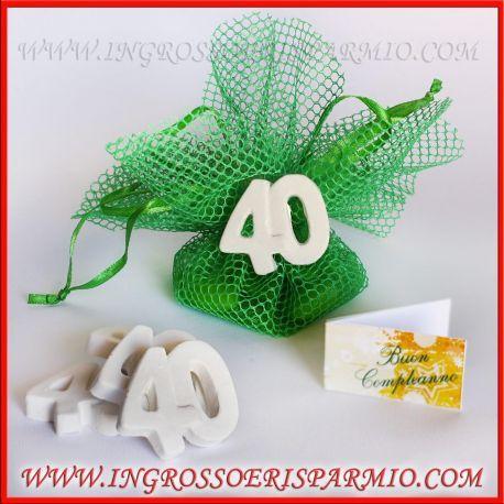 Bomboniere Per Anniversario Di Matrimonio 40 Anni.Pin Su Bomboniere Compleanno
