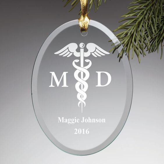 The perfect personalized gift for the doctor on your list!