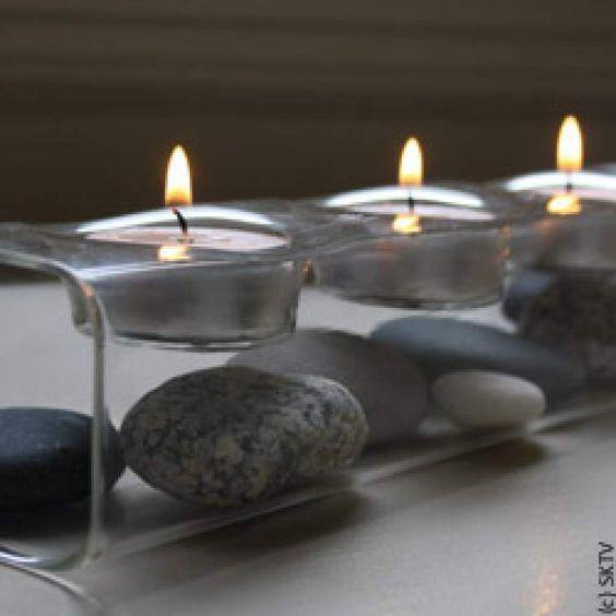 d coration zen bougies photophore zen personnalisable avec galets ou bois flott mon futur. Black Bedroom Furniture Sets. Home Design Ideas