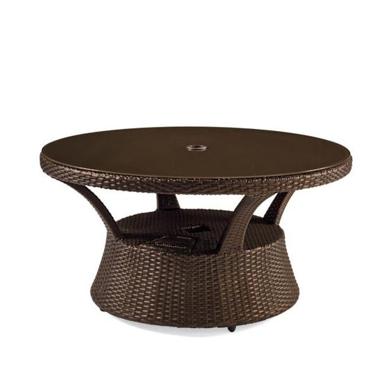 Pasadena Ii Modular Seating In Bronze Finish Frontgate Coffee Table Wicker Coffee Table Gathering Table