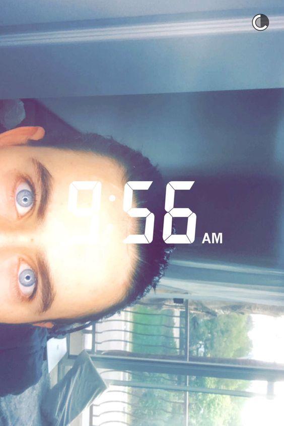 Nash on snapchat