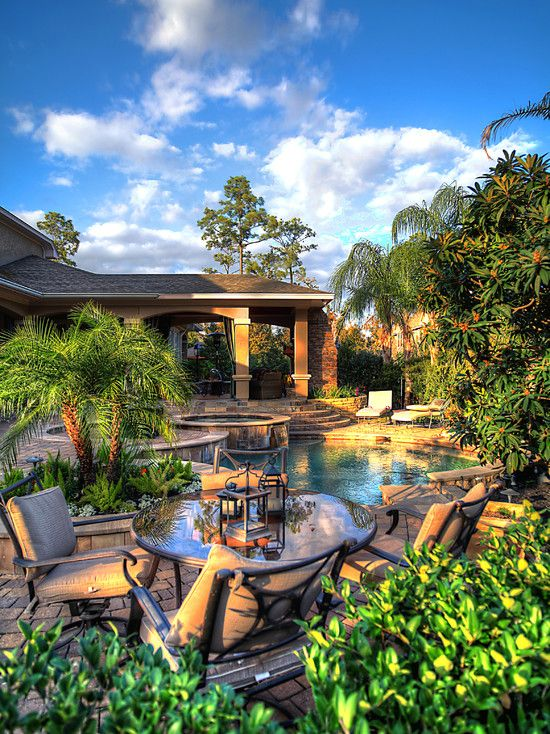.: Dream Backyard, Dream House, Tropical Backyard, Outdoor Spaces, Pools Backyards, Amazing Backyard