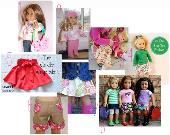 Weekend Whims- Doll Clothes