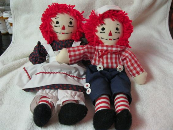 Ragedy Ann and Andy - my Mom made these one Christmas for all us kids and our cousins