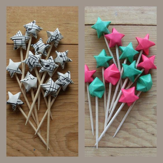 Estrella de papel origami present for you pinterest - Estrellas de papel ...