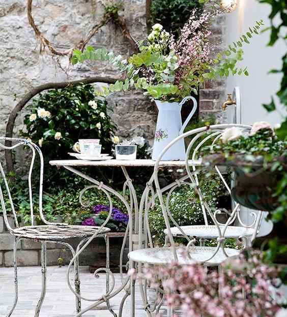 Decoración jardín París