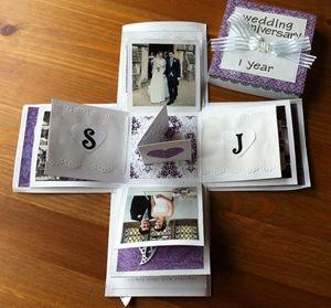 Wedding Anniversary Gift Box : ... boxes anniversaries wedding anniversary gifts anniversary gifts boxes