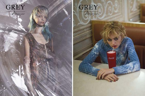 GREY Magazine I.II Winter 2014:Covers | Grey Magazine