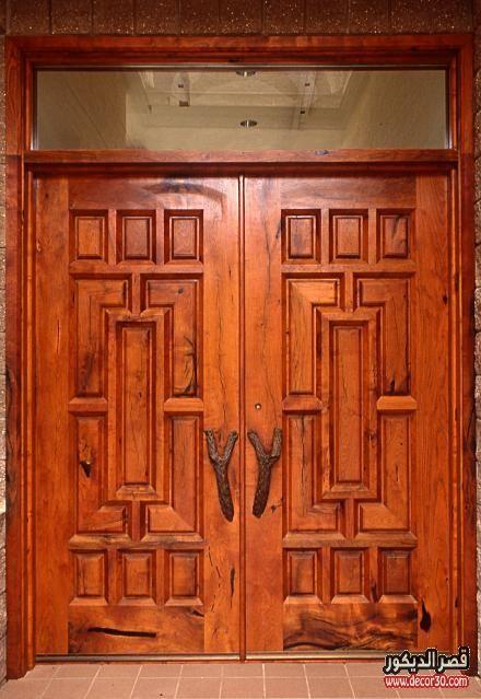 ابواب منازل اشكال ابواب خشب داخلية وخارجية للشقق قصر الديكور Beautiful Doors Doors Wood Doors Interior
