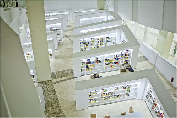 Biblioteca de Galicia arriba by J.A.Sanjurjo, via Flickr