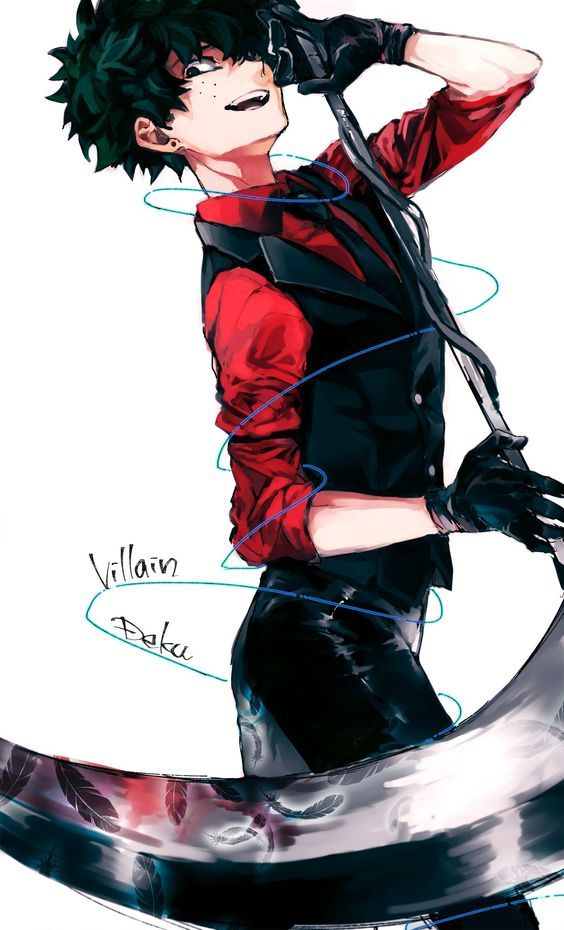 Villain Izuku Midoriya My Hero Academia Episodes Hero Villain Deku