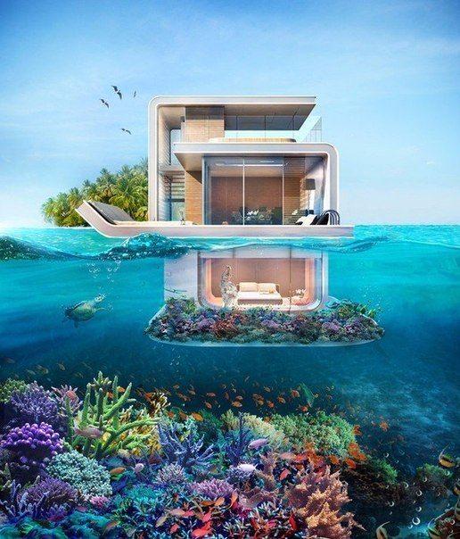 Дом в море дубай италия дом купить